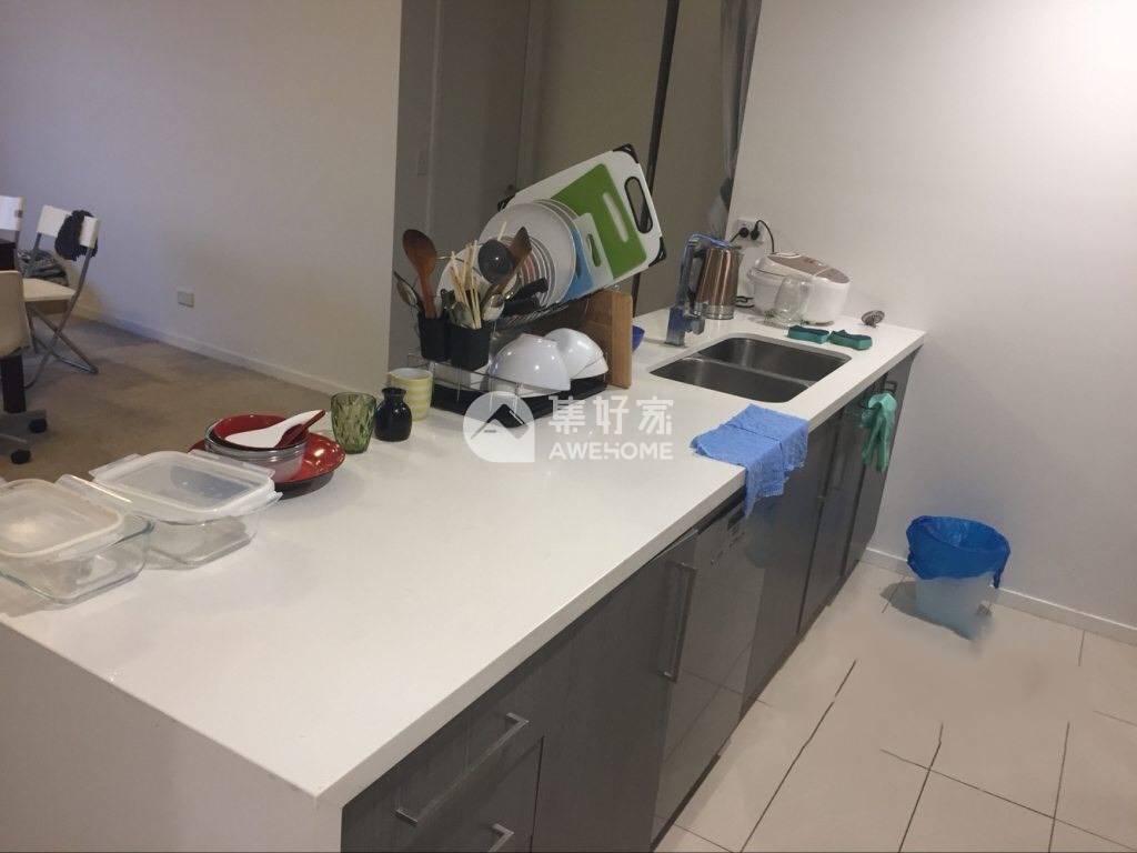 悉尼,Wolli Creek  7楼主卧 独立卫浴