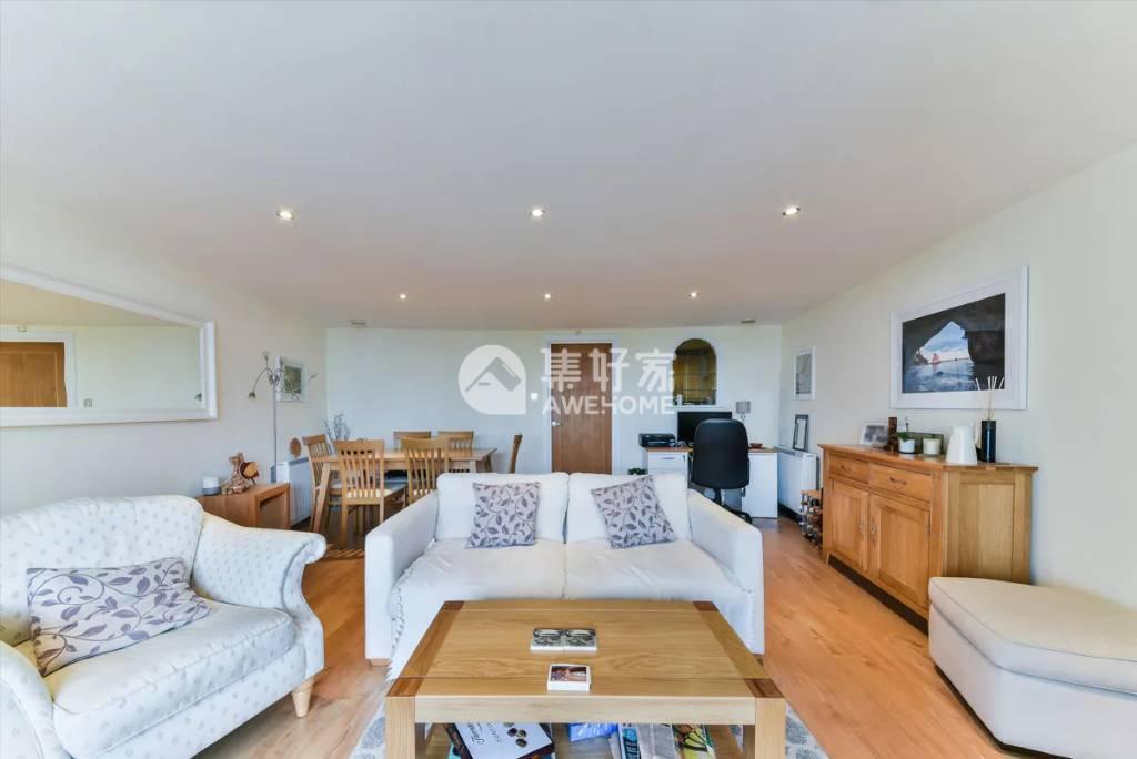 伦敦,金丝雀码头宽敞两居室 特价425一周招租 10.18可住