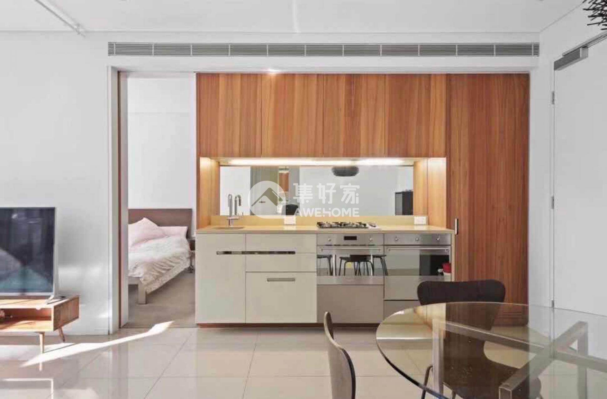 悉尼,悉尼central park 两房两卫主卧带家具大减价