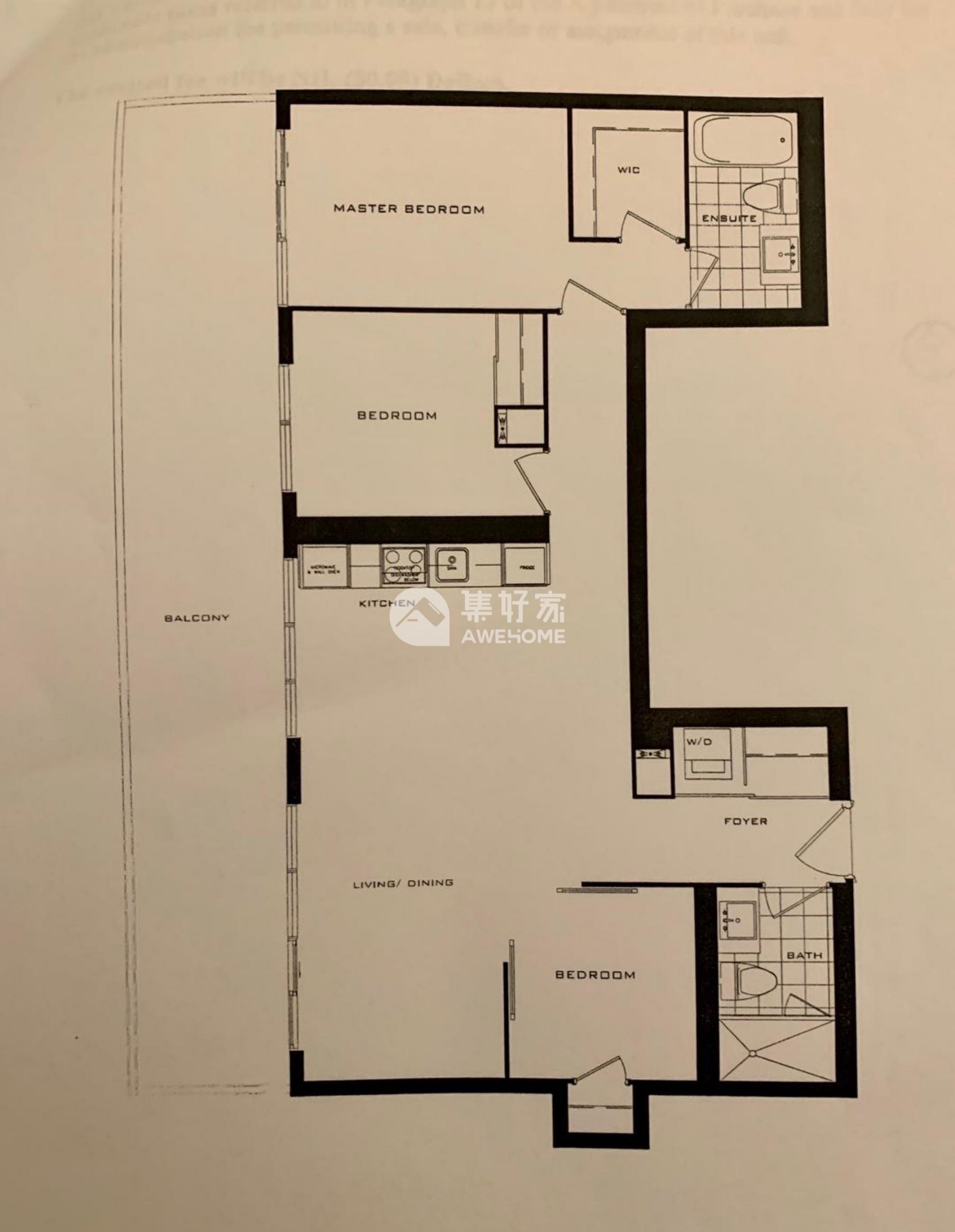 多伦多,多伦多市中心公寓全新低价出租