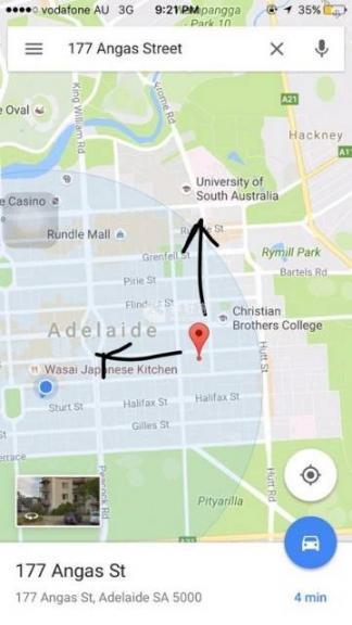 阿德莱德,阿德City Angas 公寓 黄金地理 舒适好房